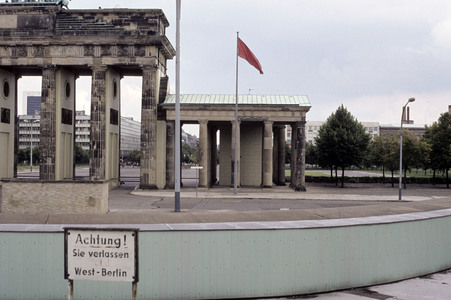 15.05.1978<br />Das Brandenburger Tor in Berlin