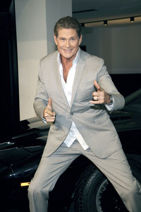 11.04.2018<br>Fototermin mit David Hasselhoff in Berlin