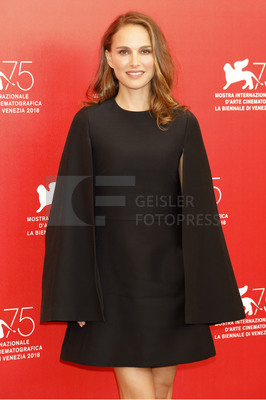 'Vox Lux' Photocall at the 75th Venice Film Festival